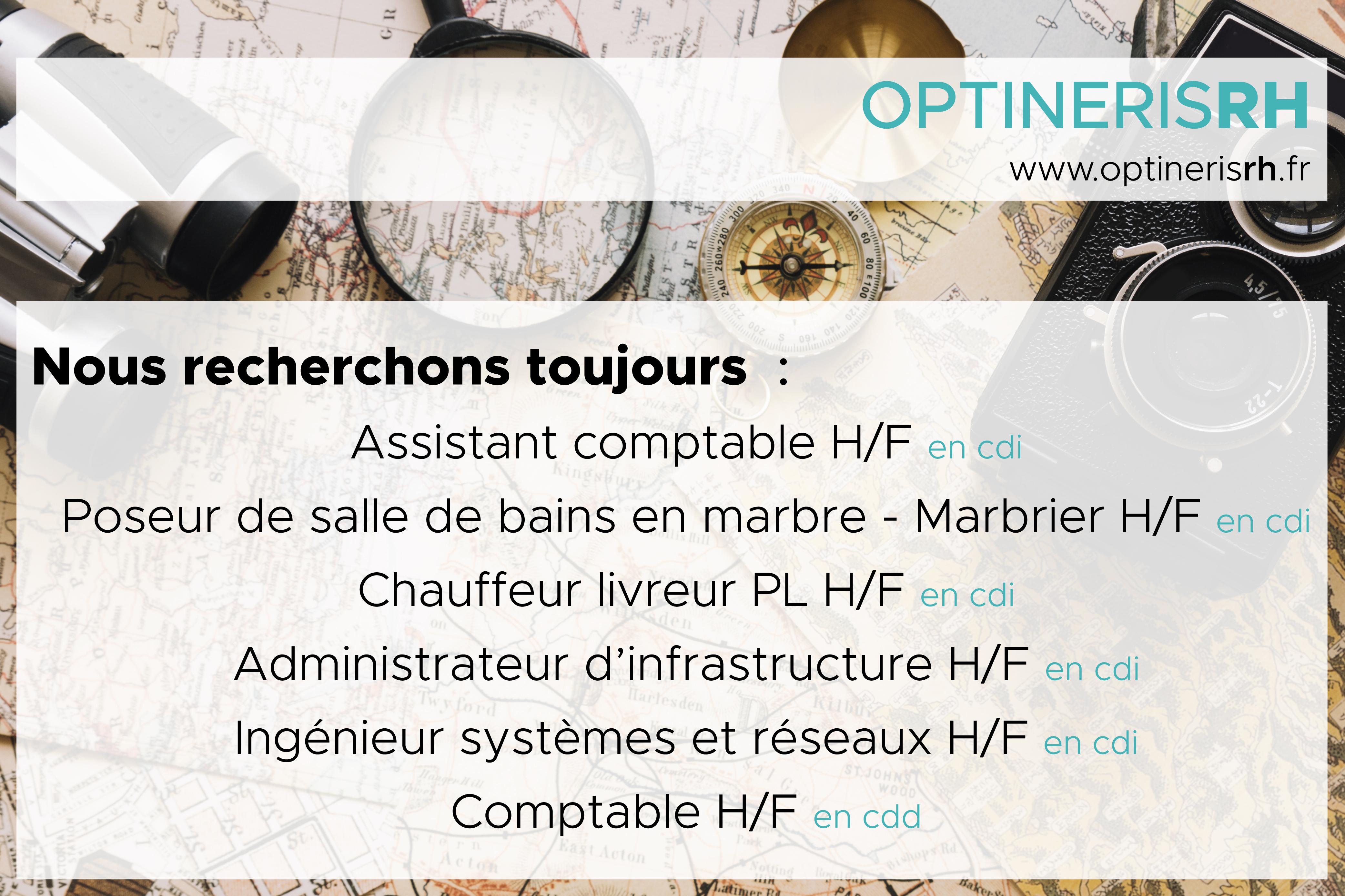 OPTINERIS RH - Offre d'emploi - Octobre 2018